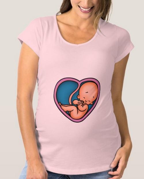 Funny Valentine's Day Maternity Shirts