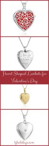 Heart Shaped Locket for Valentines Day