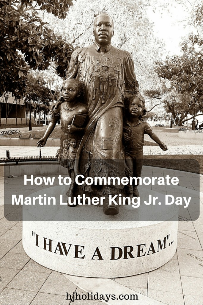 How to Commemorate Martin Luther King Jr. Day
