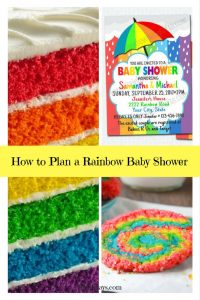 How to Plan a Rainbow Baby Shower