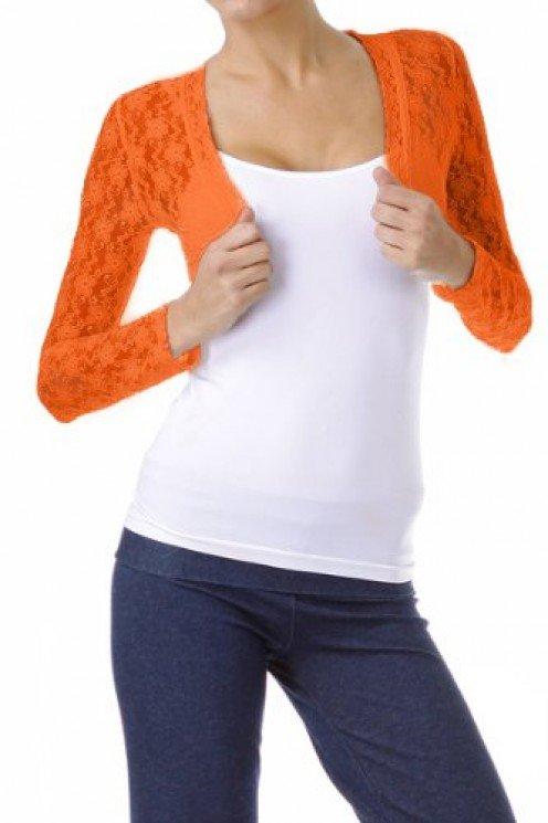 Lace Bolero Orange