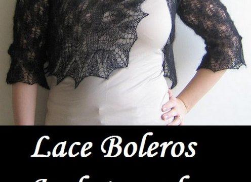 Lace Boleros Jackets and Shrugs