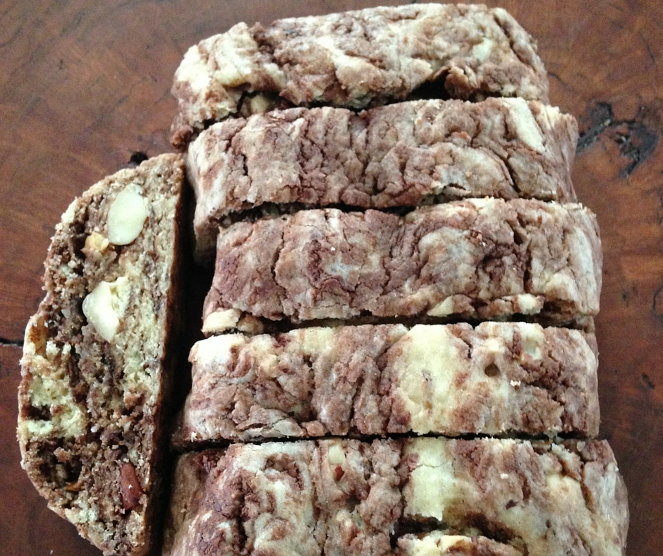 Marbled Gianduia Biscotti(2)