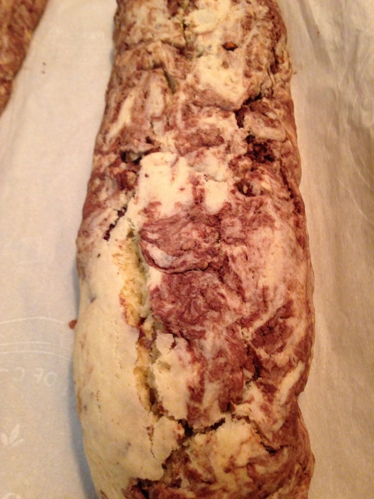 Marbled Gianduia First Baking