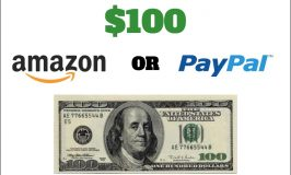 March $100 Giveaway Choose Paypal or Amazon Gift Card Ends 3/23