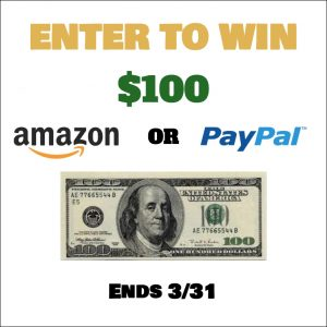 Spring Forward $100 Giveaway Ends March 31