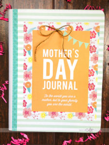 Modern MOMents Mother's Day Journal Gift