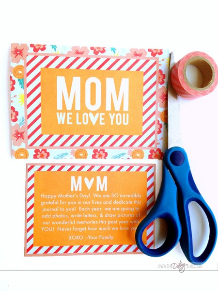 Modern MOMents Mother's Day Journal