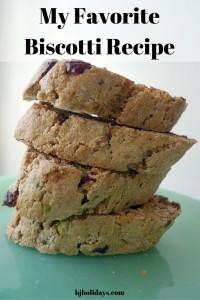 My Favorite Biscotti Recipe