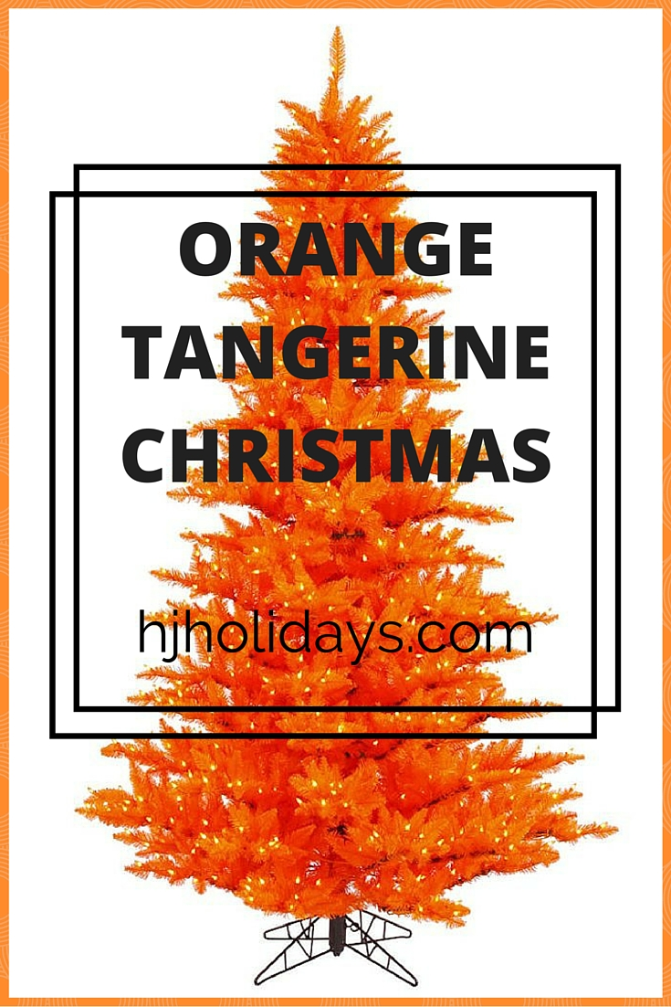 Orange Tangerine Christmas