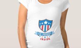 Patriotic July 4th Maternity Shirts