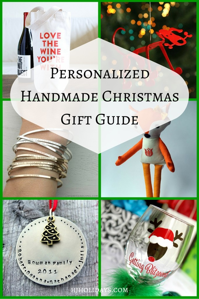 Handmade Christmas Gift Guide