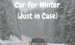 Preparing Your Car for Winter (Just in Case)