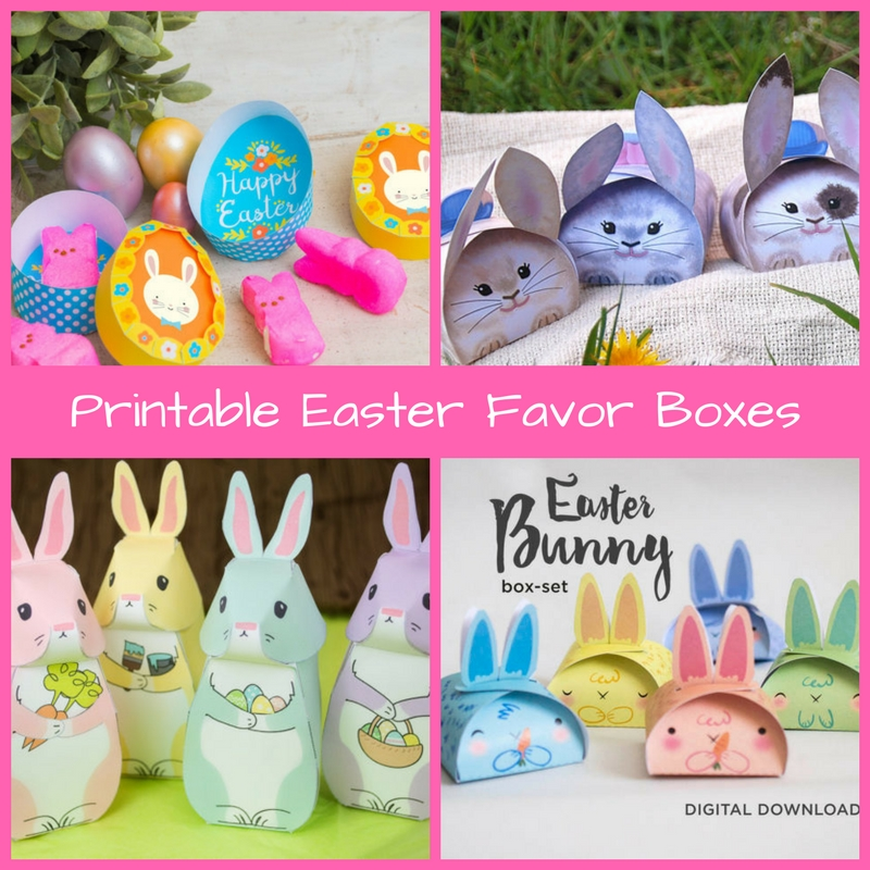 Printable easter favor boxes and tags holly jolly holidays easter is quickly approaching and with it the thoughts of bunnies baskets decorated eggs candy and more some etsy sellers are offering adorable do it negle Choice Image
