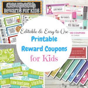 Customize Easy-to-Use Printable Reward Coupons for Kids