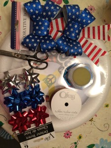DIY Patriotic Wreath-STEP ONE