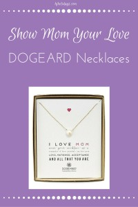 DOGEARED Love Necklaces for Mother's Day