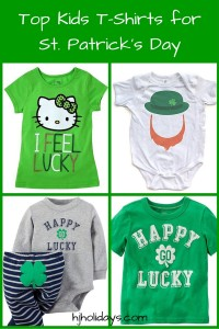 Top Kids T-Shirts for St. Patrick's Day
