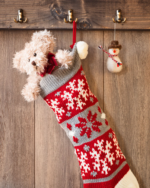 Ugly Christmas Sweater Stocking