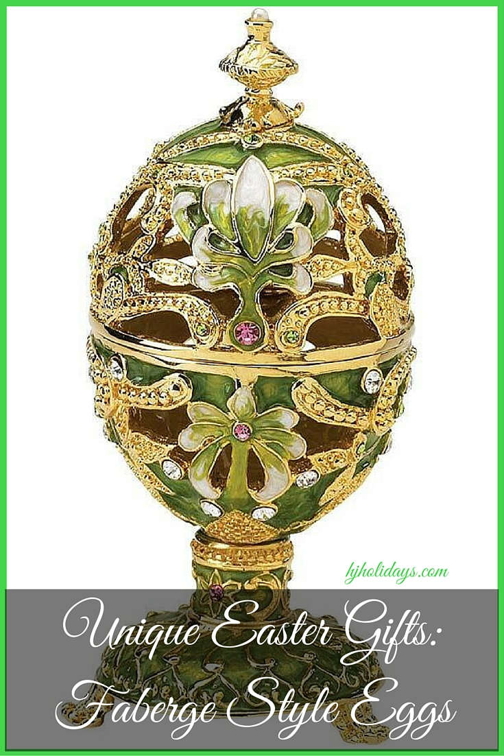Unique Easter Gifts Faberge Style Eggs