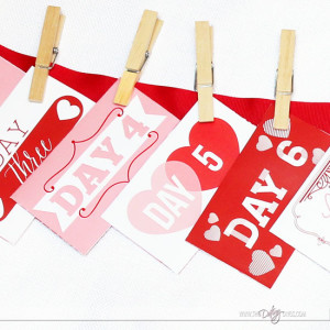 DIY Valentine's Day Countdown