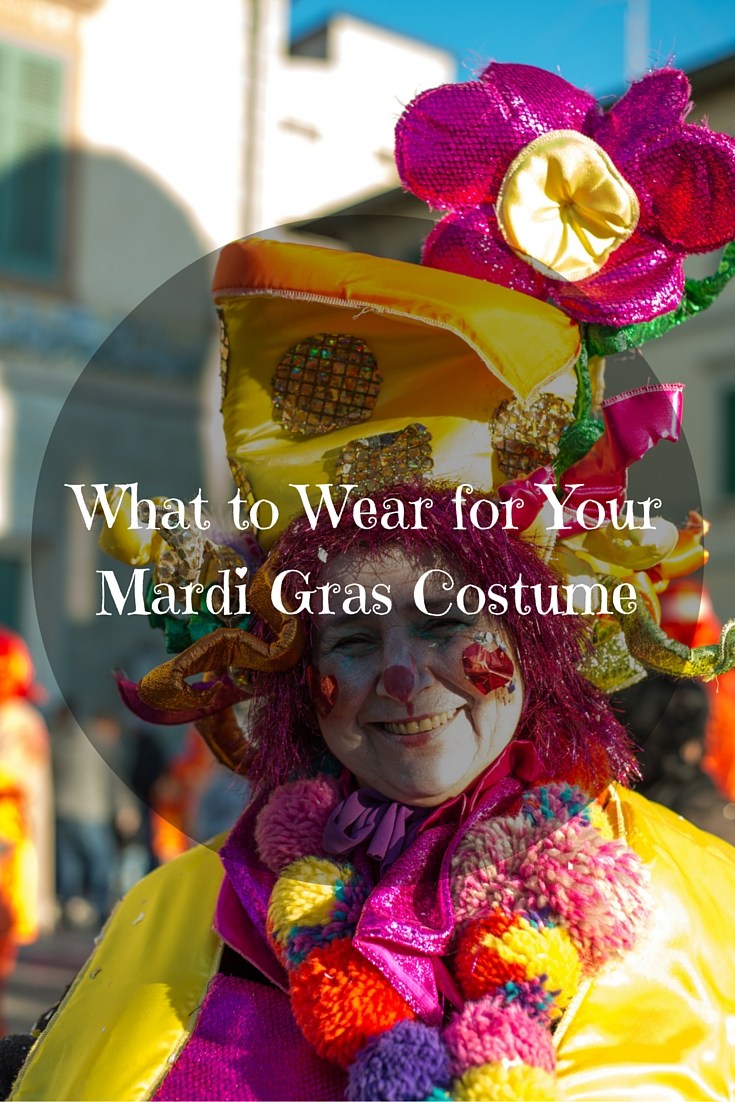 What to Wear for Your Mardi Gras Costume
