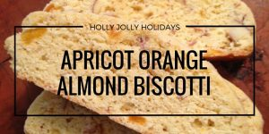 Apricot Orange Almond Biscotti