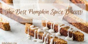 Thanksgiving Menu Ideas: The Best Pumpkin Spice Biscotti