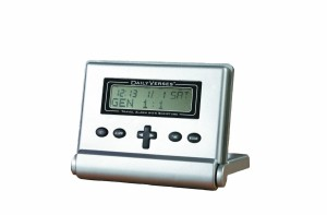 Rocketech Daily Verses Clock