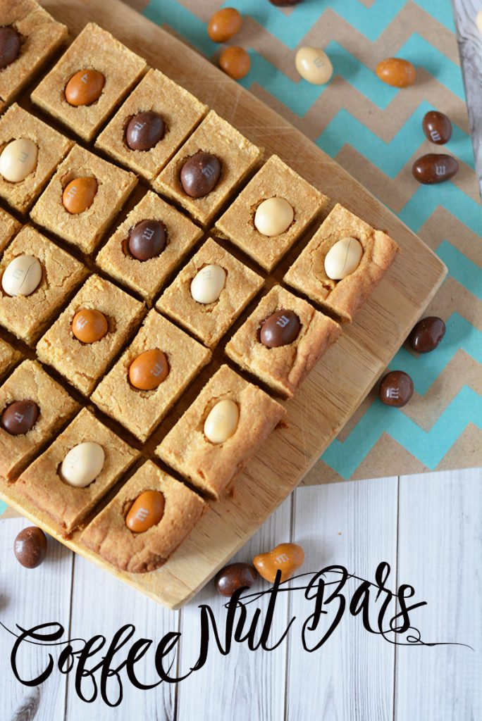 Coffee Nut Bars: Coffee M&Ms Dessert