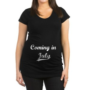 Due in July Maternity Shirts