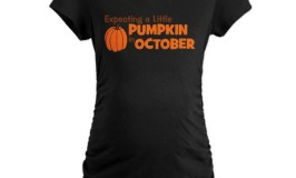 Expecting My Pumpkin in October Maternity Shirt
