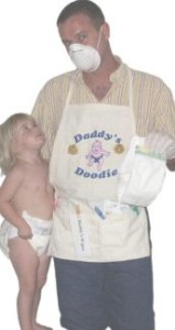 """Daddy's Diaper """"Doodie"""" Apron"""