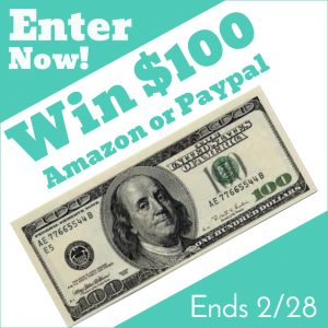 Win $100 in this New Contest for Amazon or Paypal Cash