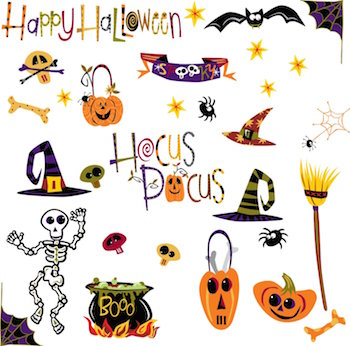 Halloween Wall Decals for Dramatic Decoration