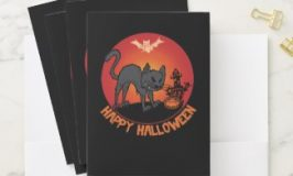Personalize These Kids Halloween Cartoon Cards, Party Supplies and Gifts