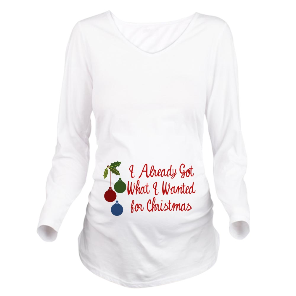 Funny Maternity Shirts for Christmas