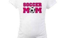 Soccer Mom Maternity Tee